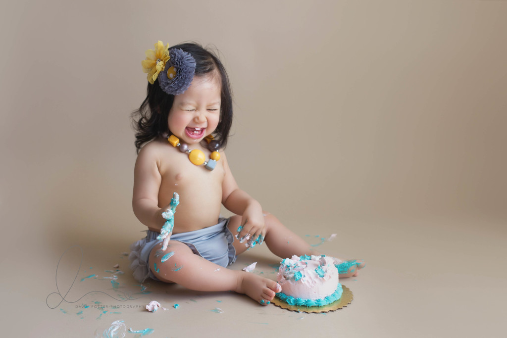 cake smash session | one year photos | auburn - maple valley baby photographer