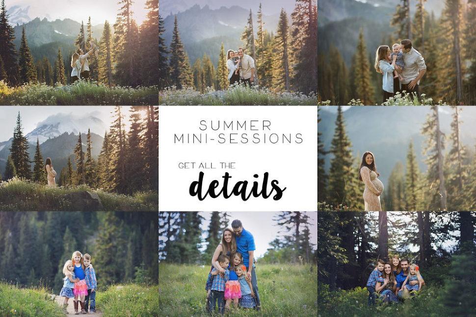 mini sessions seattle family photographer