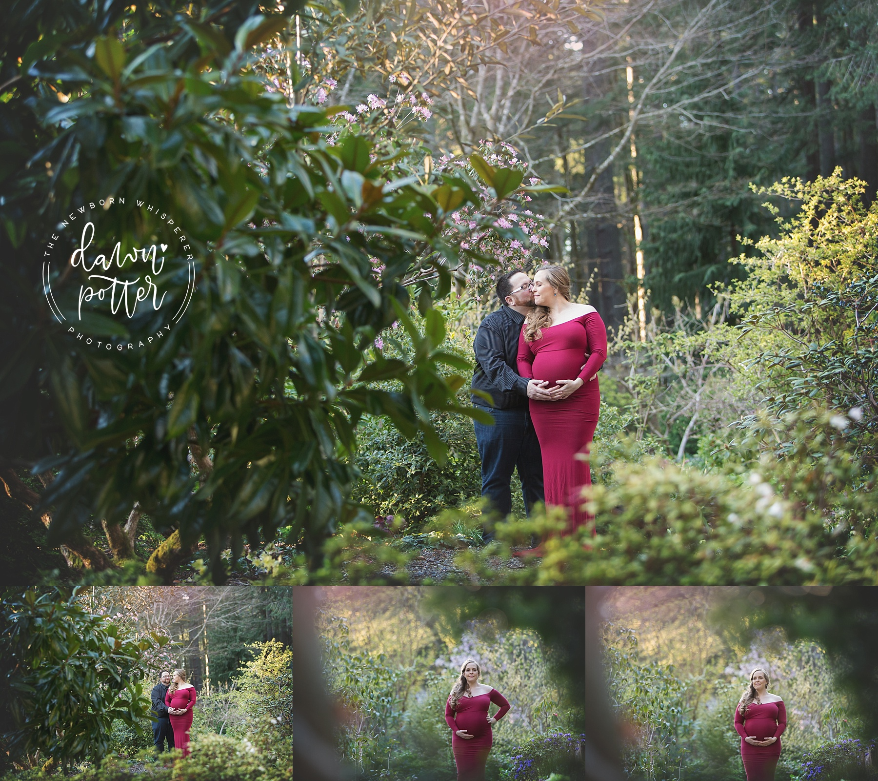 Outdoor Maternity Session in Maple Valley