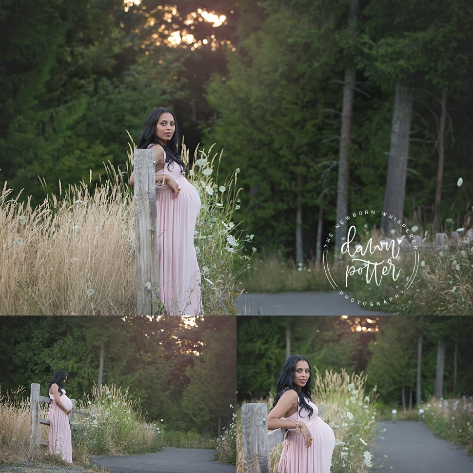 Seattle Outdoor Maternity Portrait Session