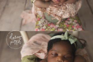 Newborn photography Seattle studio
